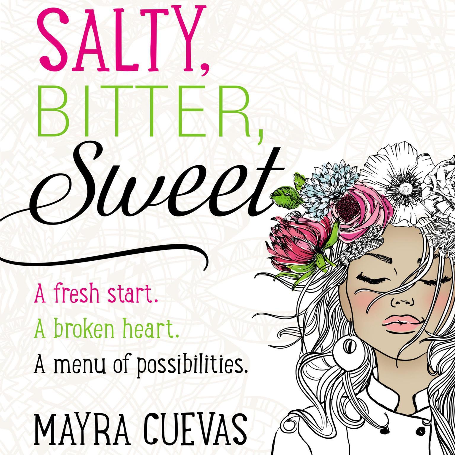 Printable Salty, Bitter, Sweet Audiobook Cover Art