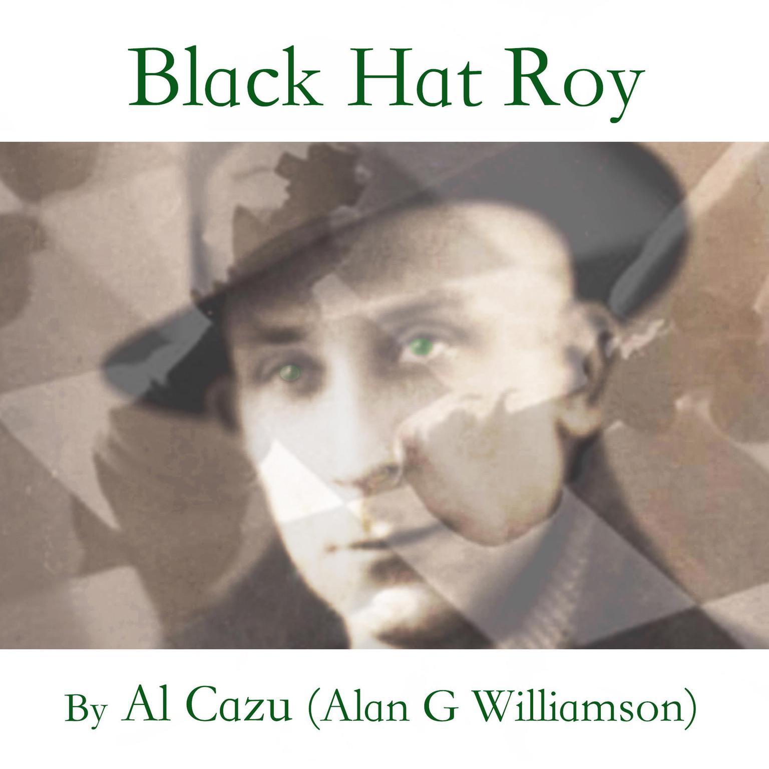 Printable Black Hat Roy Audiobook Cover Art
