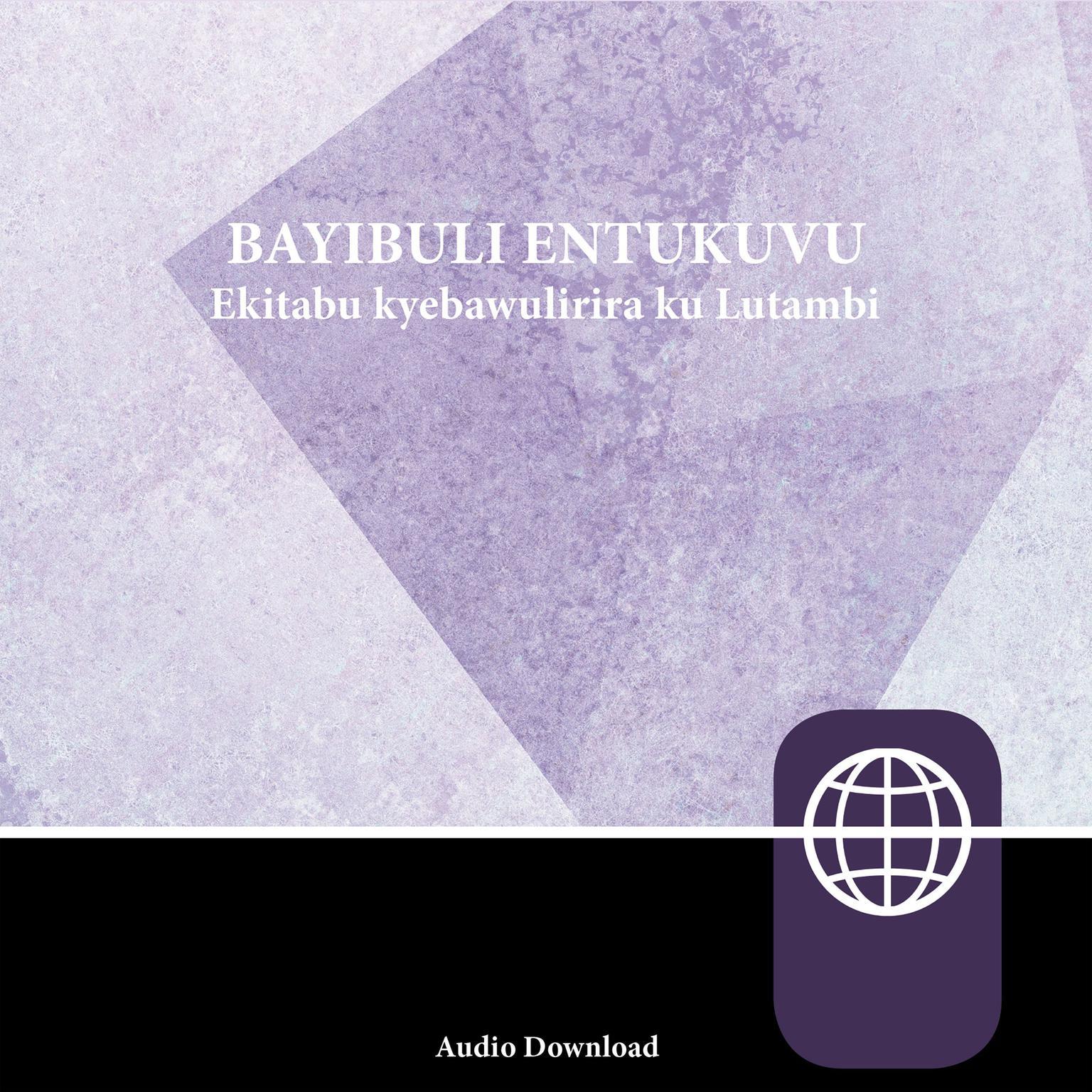 Printable Luganda Contemporary Audio Bible Audiobook Cover Art