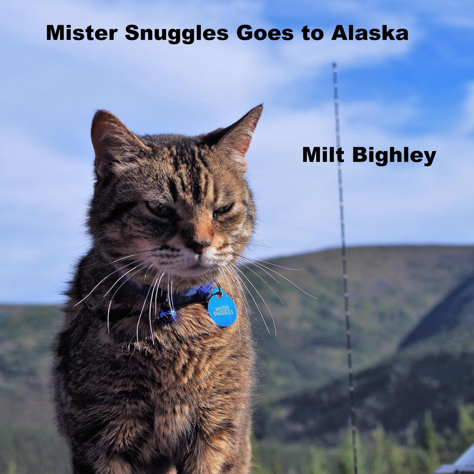 Printable Mister Snuggles Goes to Alaska Audiobook Cover Art
