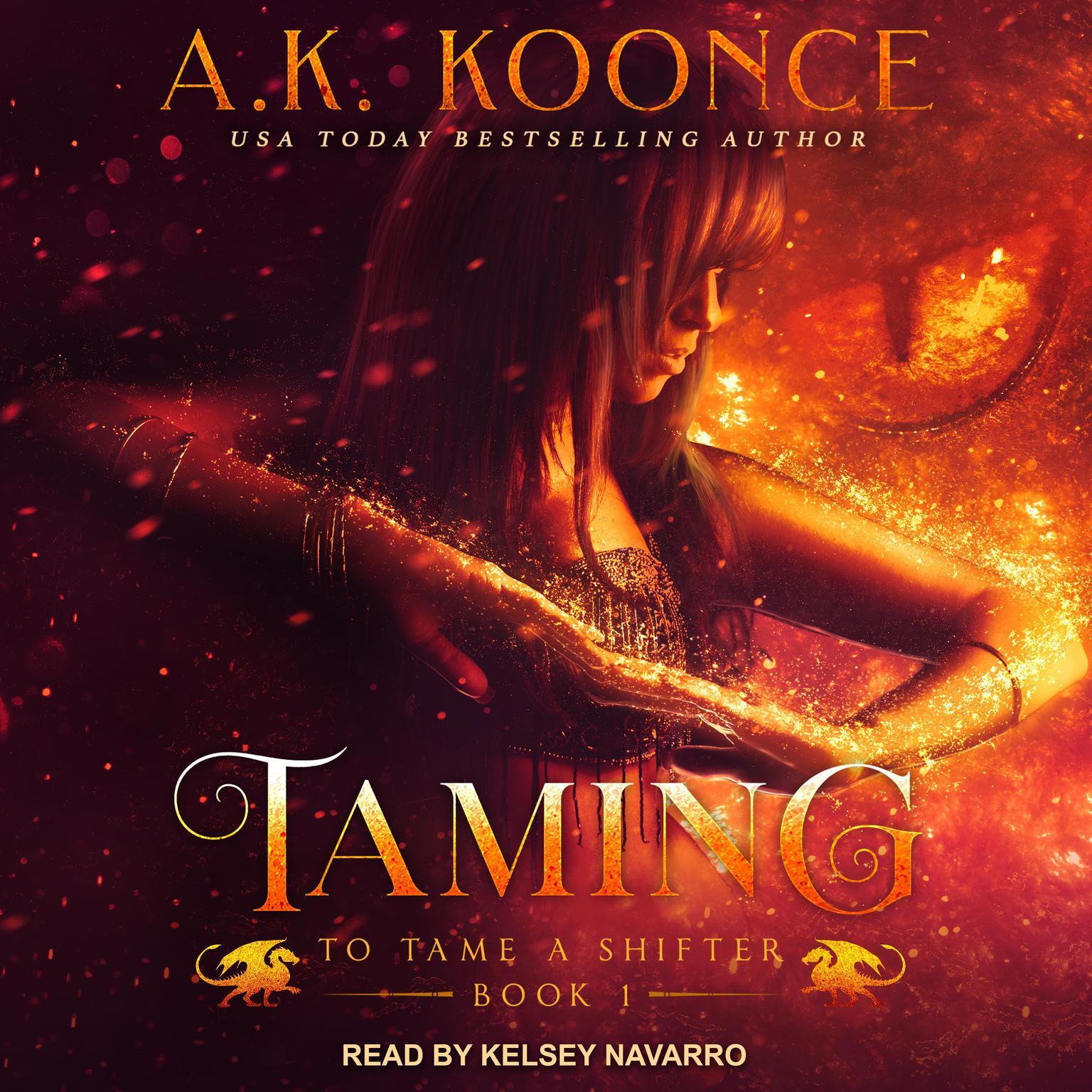 Printable Taming Audiobook Cover Art