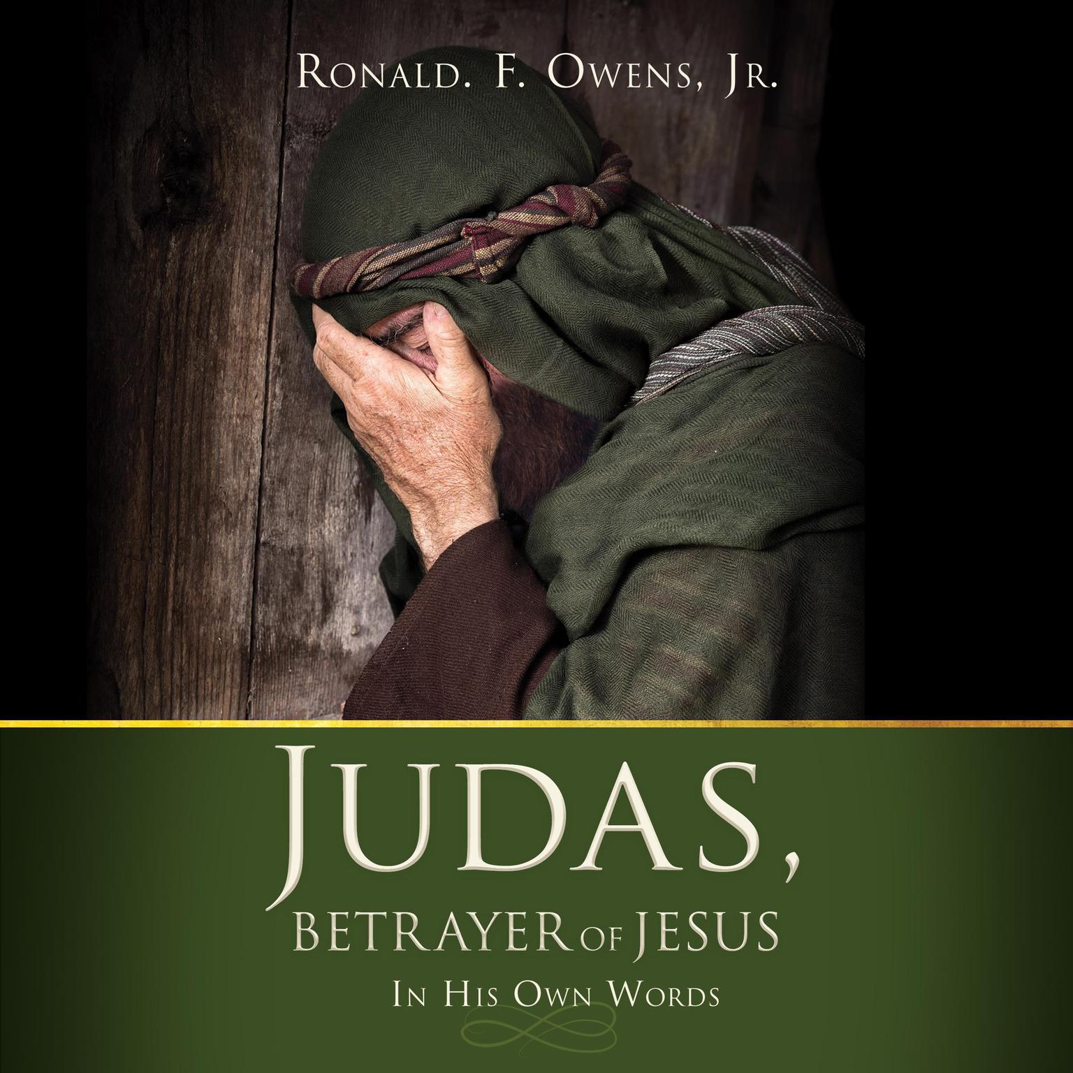 Printable Judas, Betrayer of Jesus Audiobook Cover Art