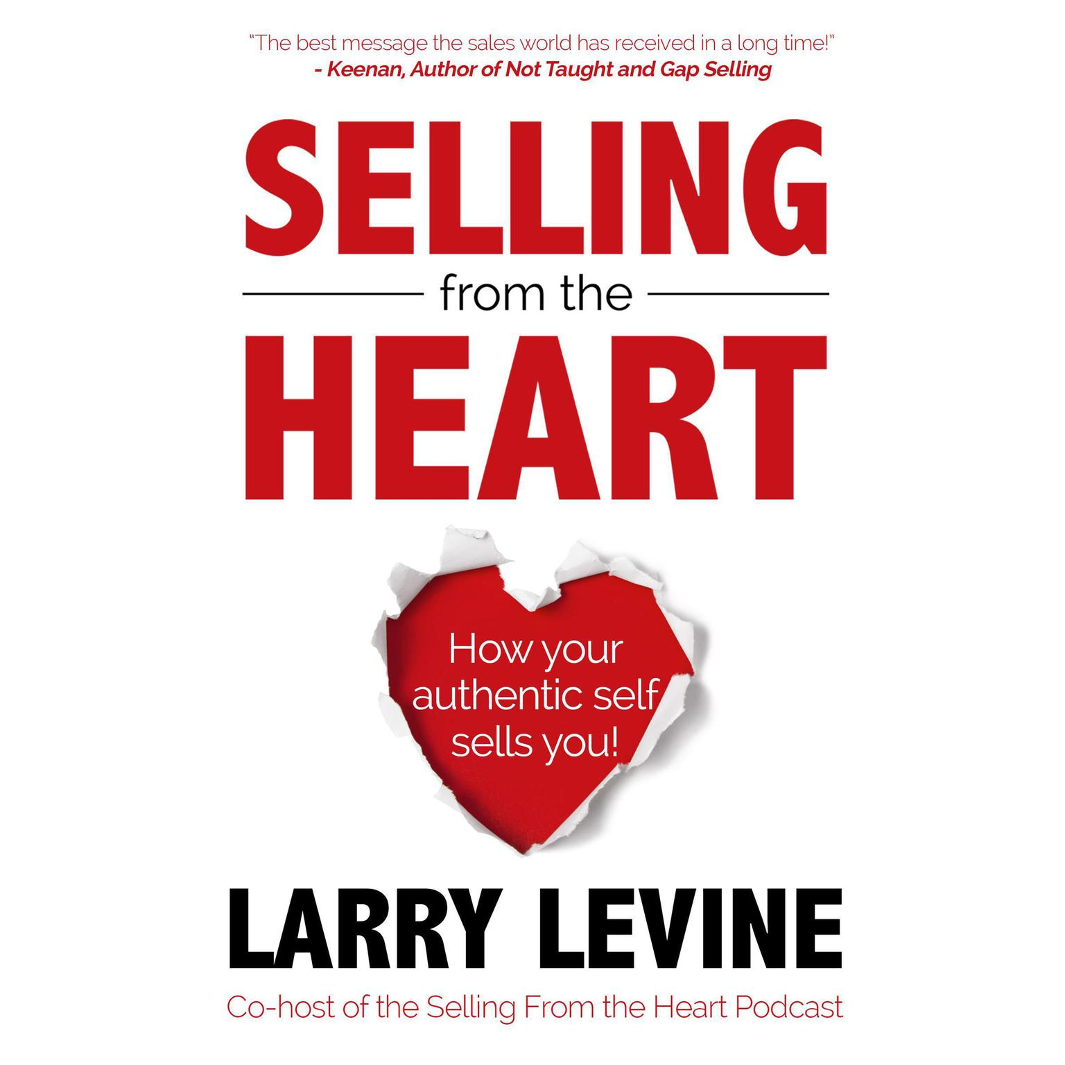 Printable Selling From The Heart Audiobook Cover Art