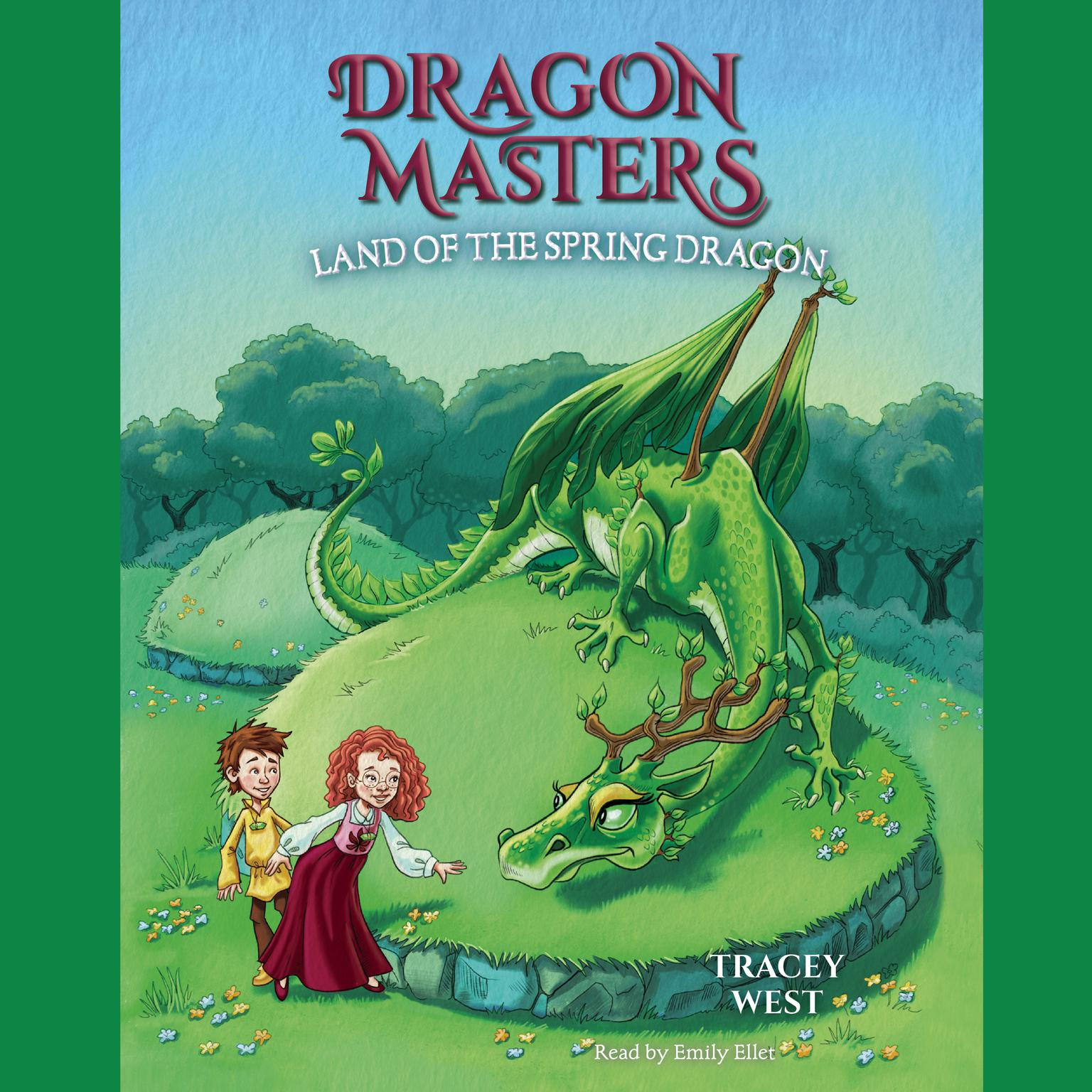 Land of the Spring Dragon Audiobook, by Tracey West