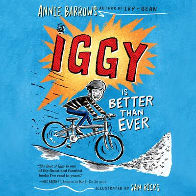 Iggy Is Better Than Ever Audiobook, by Annie Barrows