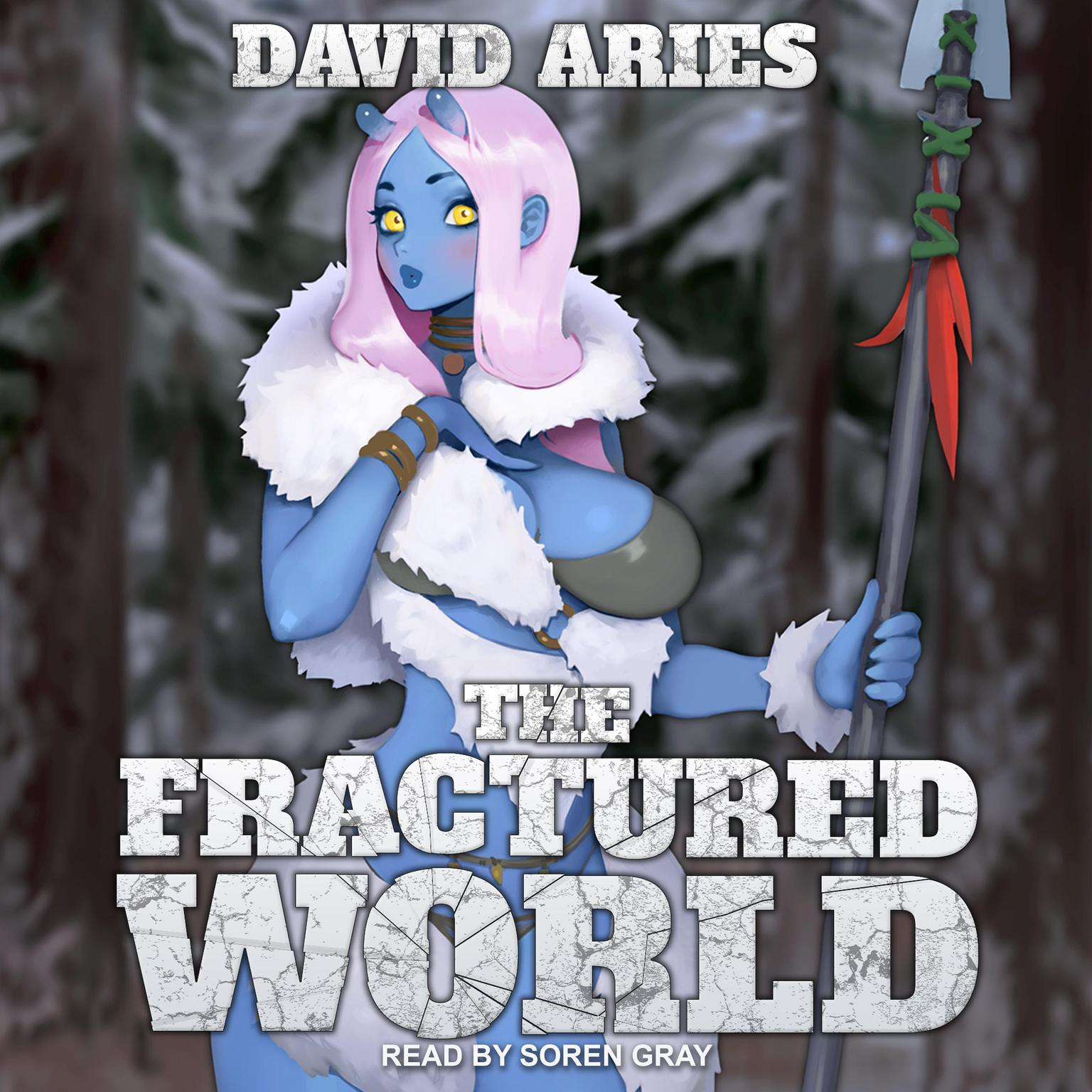 Printable The Fractured World Audiobook Cover Art