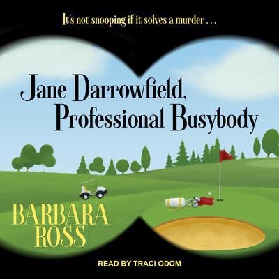 Jane Darrowfield, Professional Busybody Audiobook, by Barbara Ross