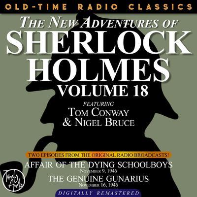 Affair of the Dying Schoolboys and The Genuine Gunarius Audiobook, by Arthur Conan Doyle