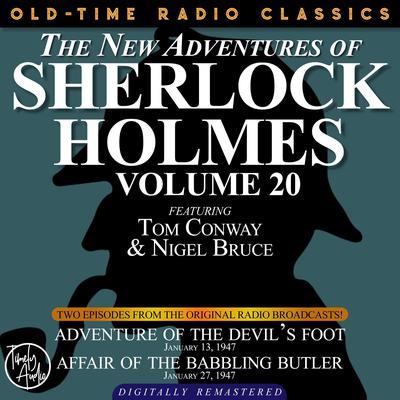 Adventure of the Devil's Foot and Affair of the Babbling Butler Audiobook, by Arthur Conan Doyle