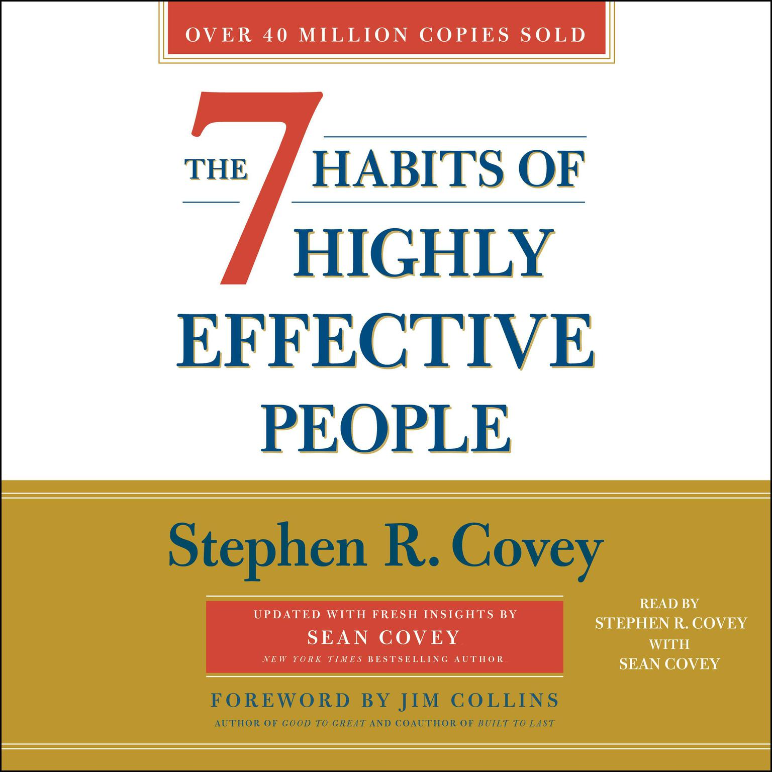 Printable The 7 Habits of Highly Effective People: 30th Anniversary Edition Audiobook Cover Art