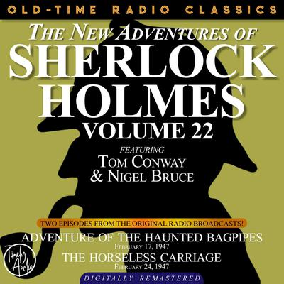 Adventure of the Haunted Bagpipes and The Horseless Carriage Audiobook, by Arthur Conan Doyle