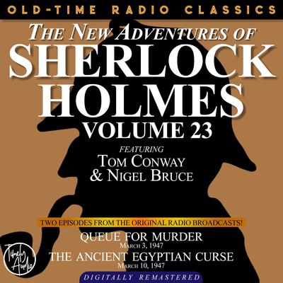 Queue for Murder and The Ancient Egyptian Curse Audiobook, by Arthur Conan Doyle