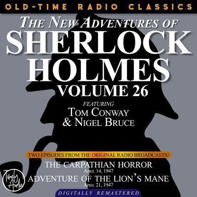 The Carpathian Horror and Adventure of the Lion's Mane Audiobook, by Arthur Conan Doyle