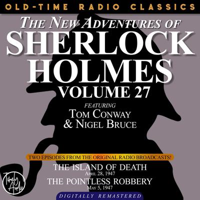 The Island of Death and The Pointless Robbery Audiobook, by Arthur Conan Doyle