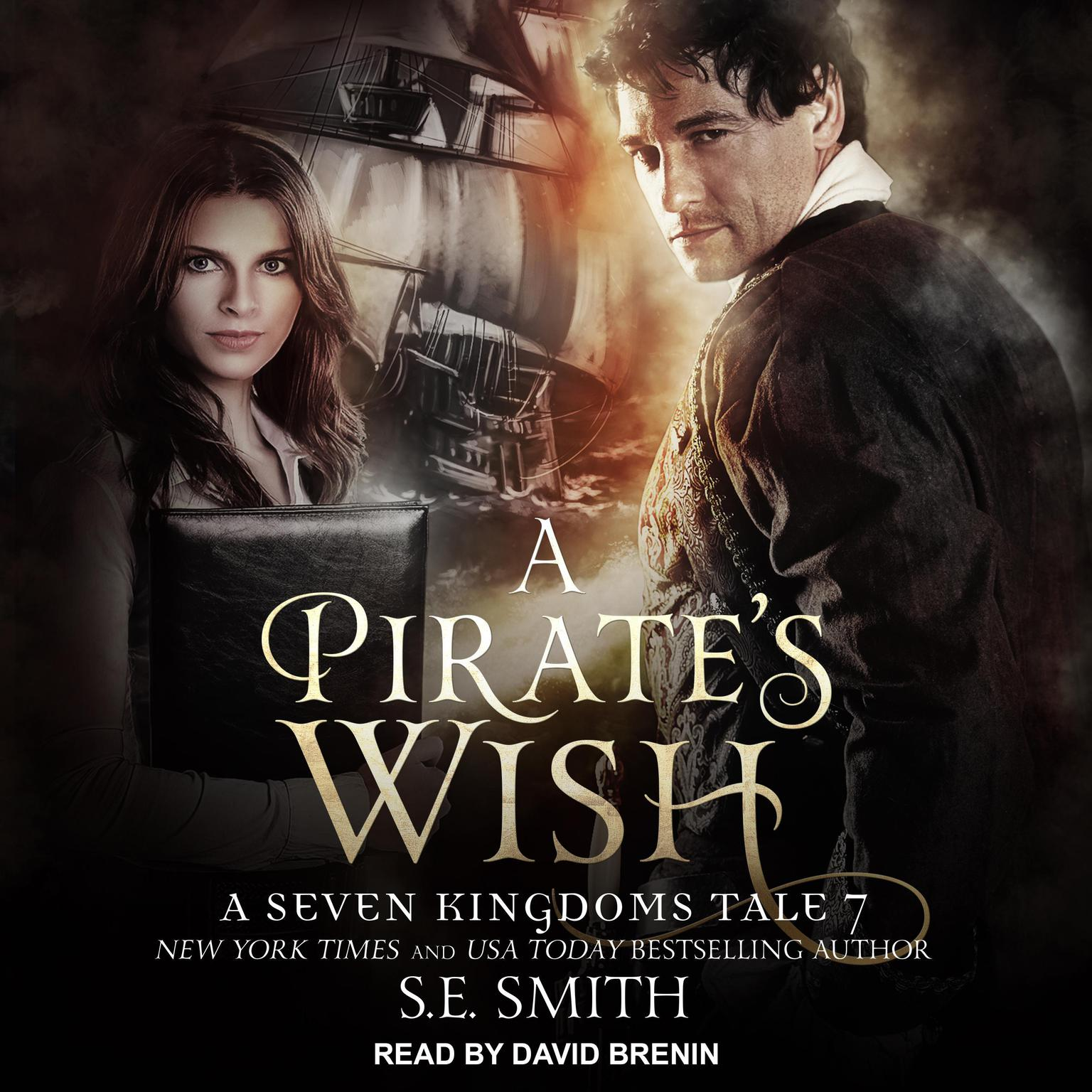 Printable A Pirate's Wish: A Seven Kingdoms Tale 7 Audiobook Cover Art
