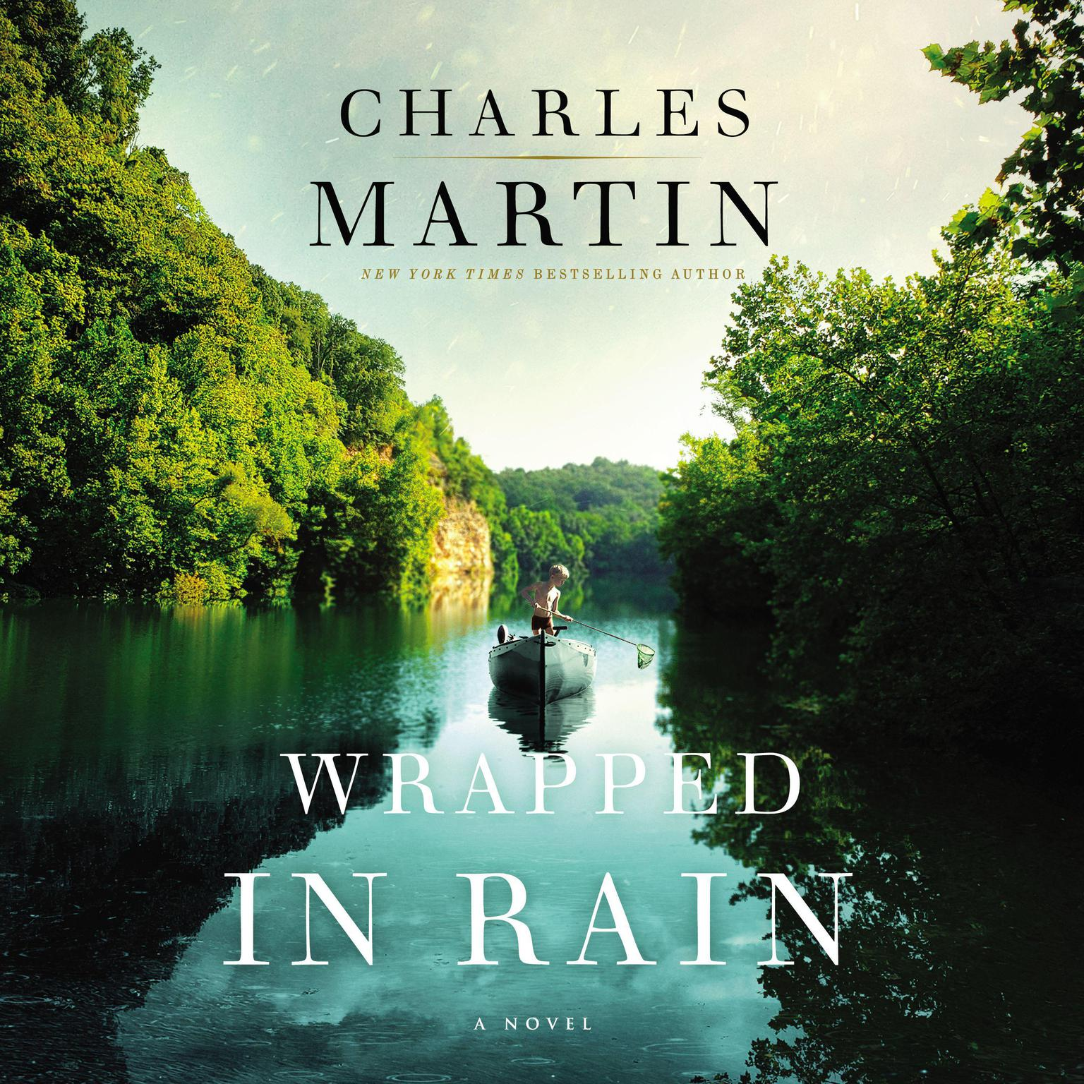 Printable Wrapped in Rain: A Novel Audiobook Cover Art
