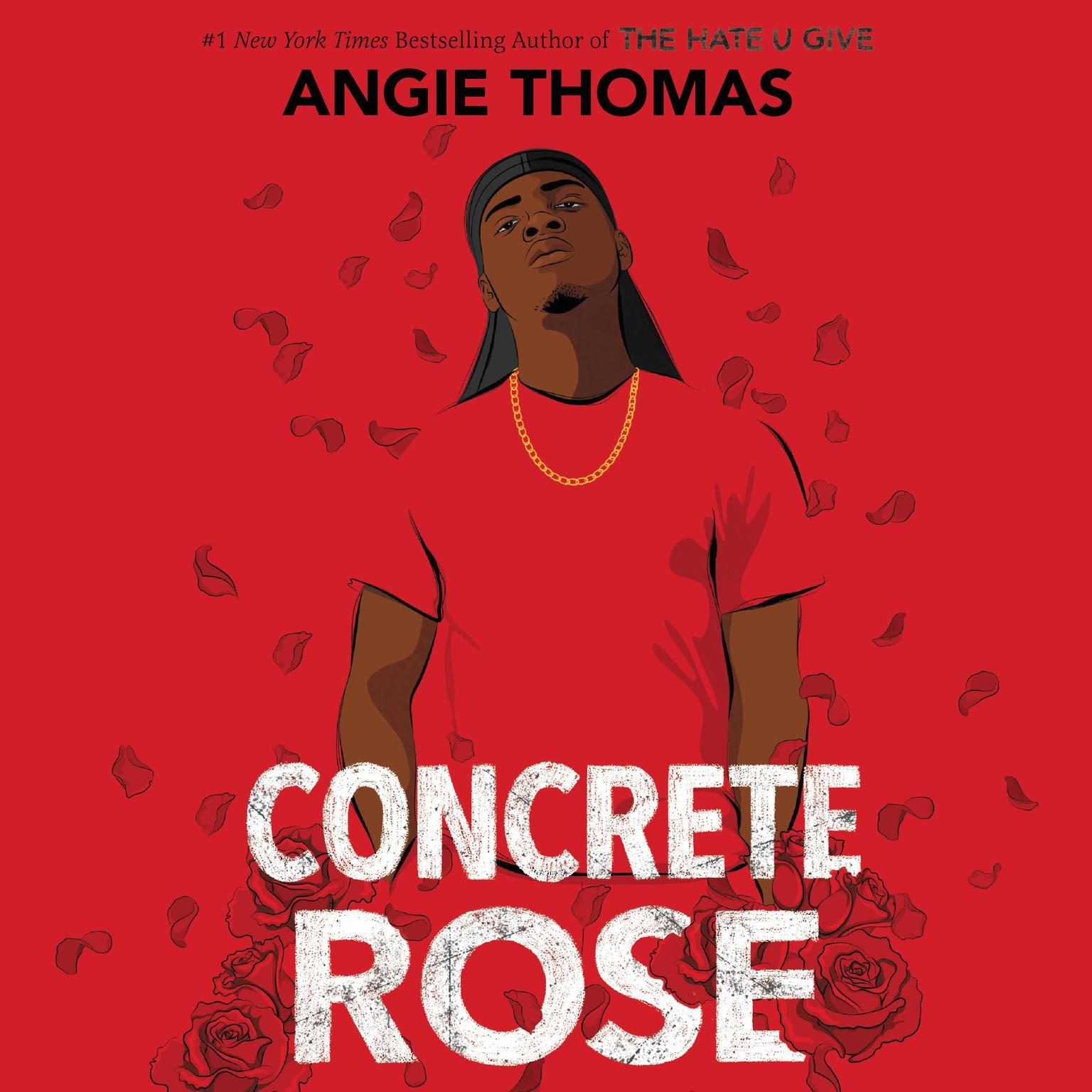 Printable Concrete Rose Audiobook Cover Art