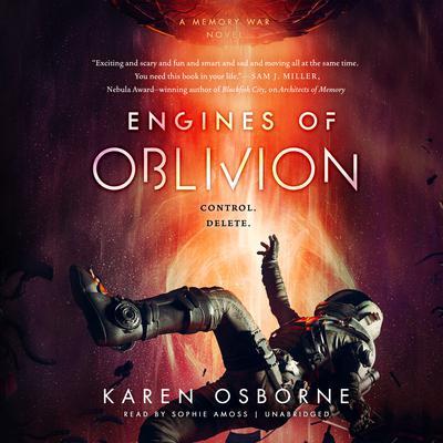 Engines of Oblivion Audiobook, by Karen Osborne