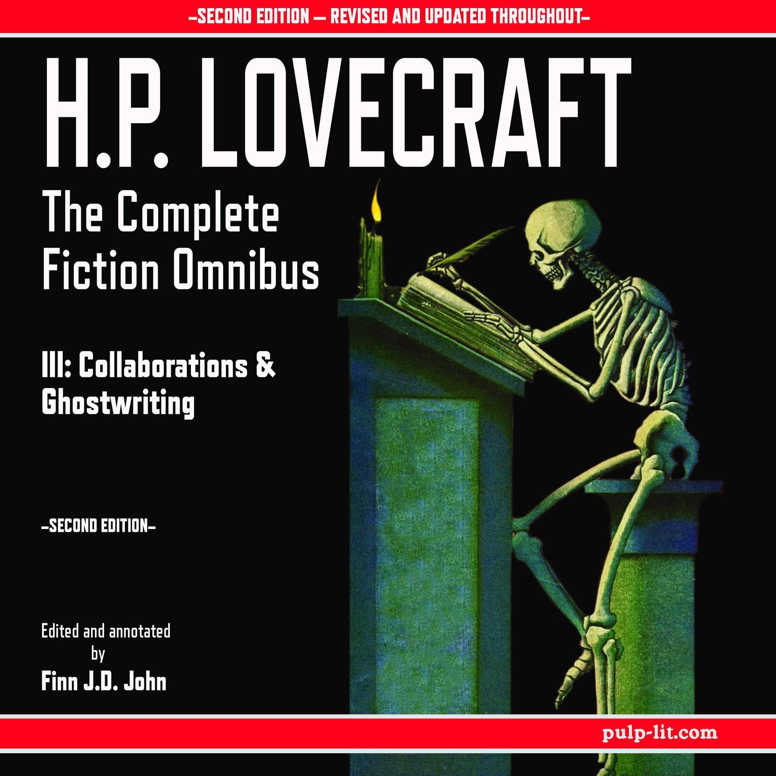 H.P. Lovecraft: The Complete Fiction Omnibus Collection III: Collaborations and Ghostwritings Audiobook, by H. P. Lovecraft