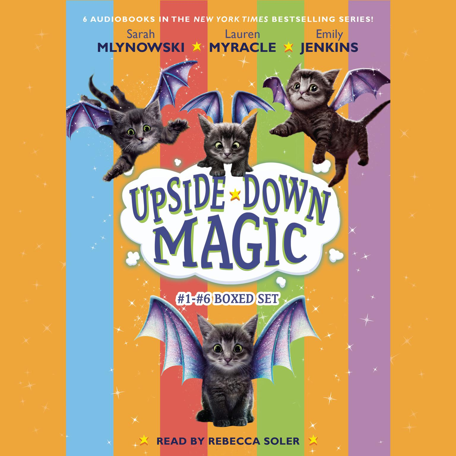 Upside Down Magic Collection (Books 1-6) Audiobook, by Lauren Myracle