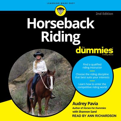 Horseback Riding For Dummies Audiobook, by Audrey Pavia