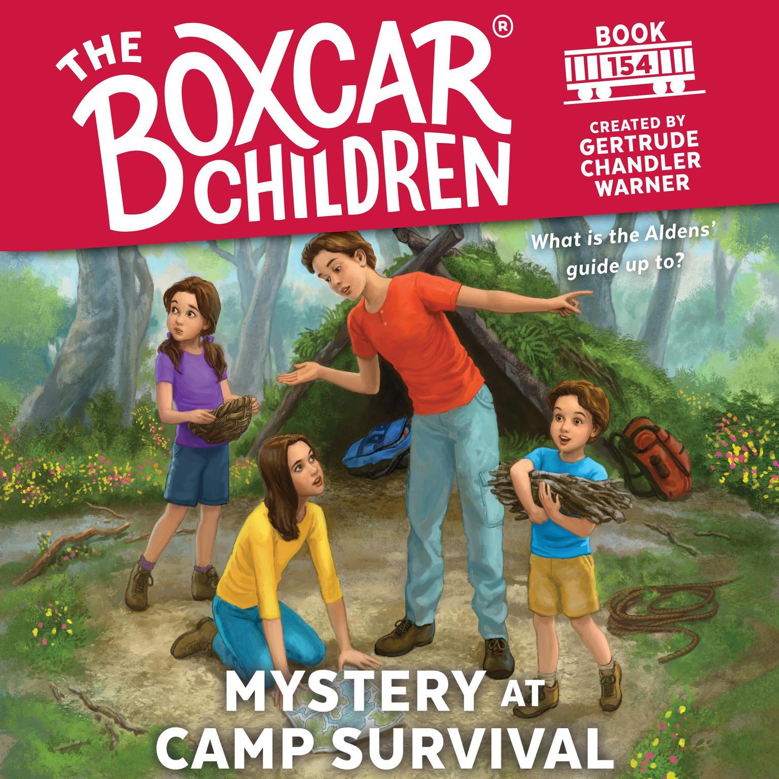 Mystery at Camp Survival Audiobook, by Gertrude Chandler Warner