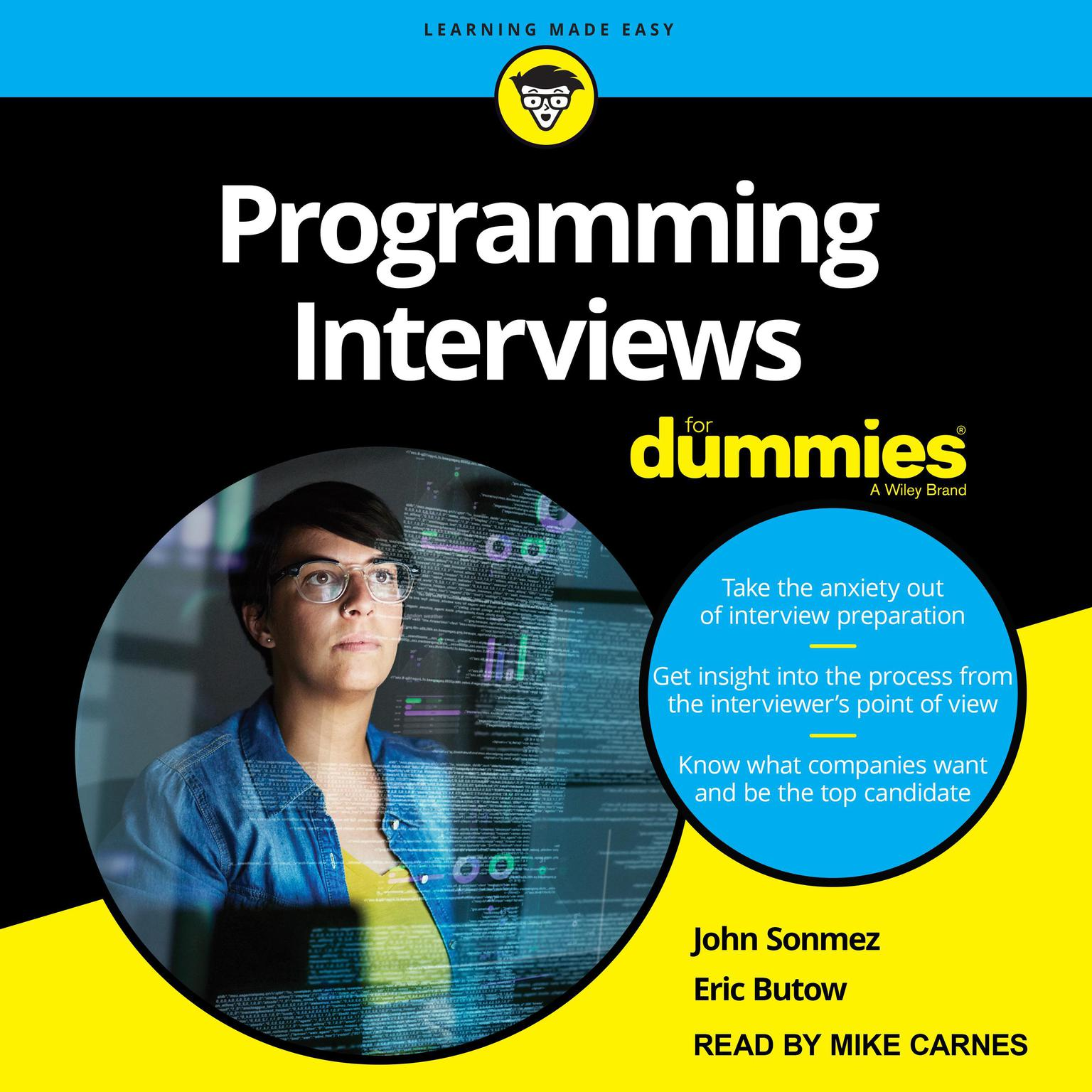 Programming Interviews For Dummies Audiobook, by Eric Butow