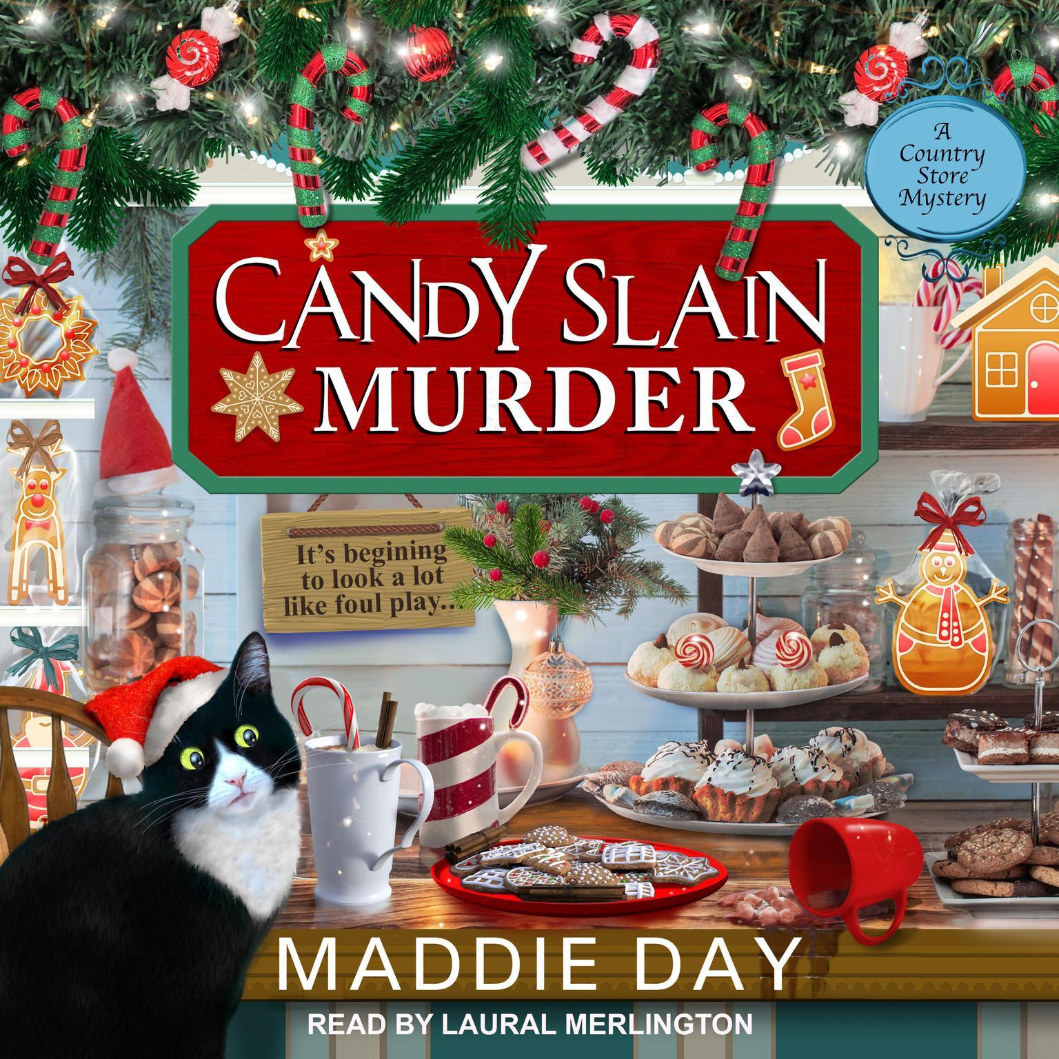 Candy Slain Murder Audiobook, by Maddie Day