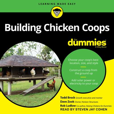 Building Chicken Coops For Dummies Audiobook, by