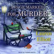 A Page Marked For Murder Audiobook, by Lauren Elliott