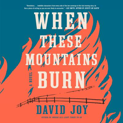 When These Mountains Burn Audiobook, by David Joy