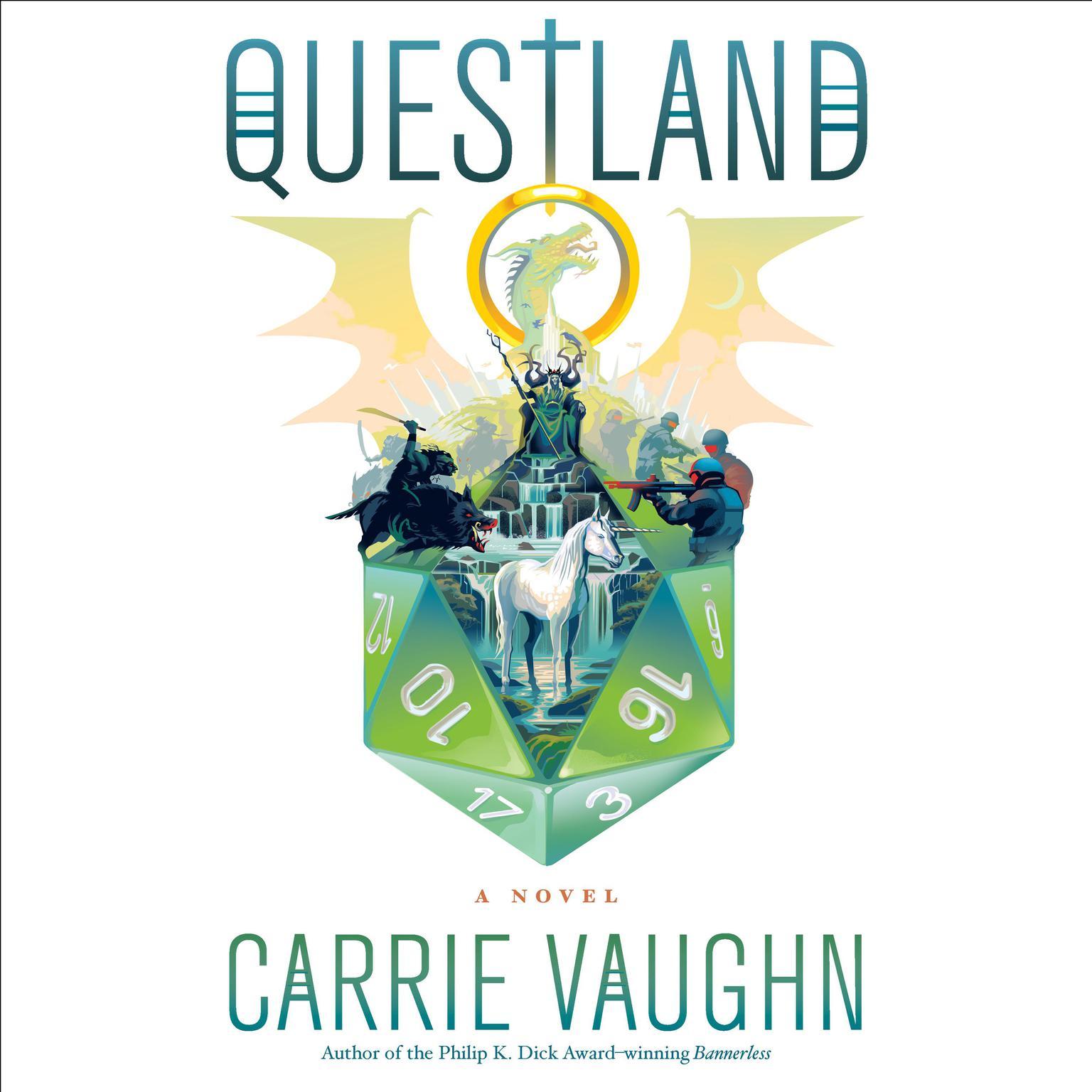 Questland Audiobook, by Carrie Vaughn
