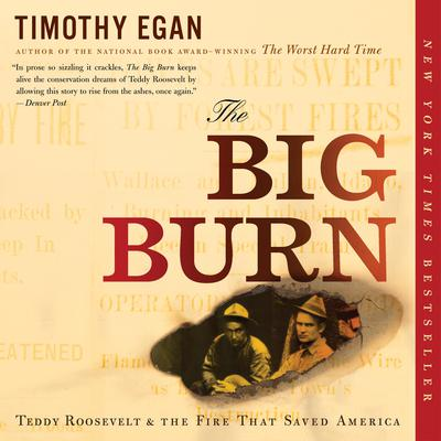 The Big Burn: Teddy Roosevelt and the Fire that Saved America Audiobook, by Timothy Egan