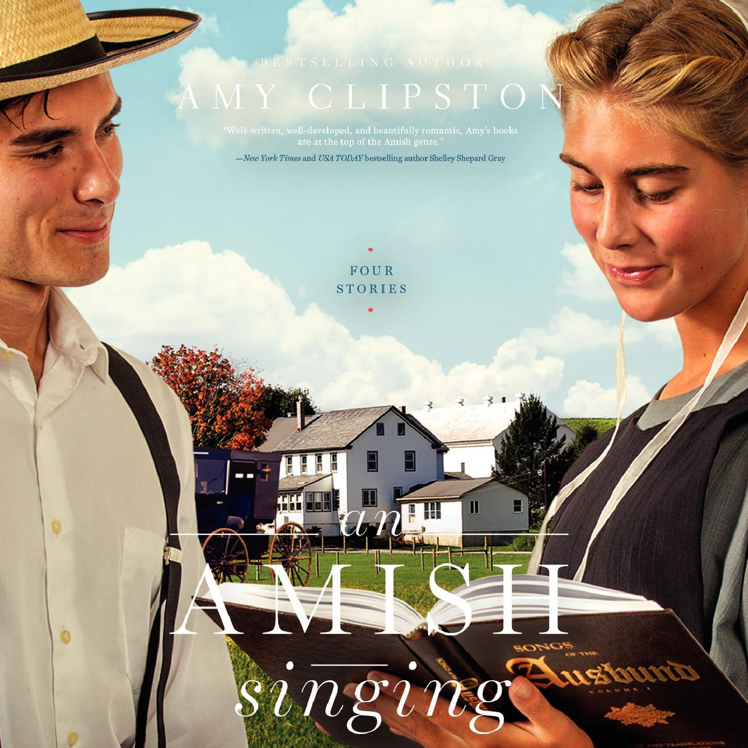 An Amish Singing: Four Stories Audiobook, by Amy Clipston