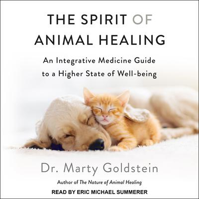 The Spirit of Animal Healing: An Integrative Medicine Guide to a Higher State of Well-Being Audiobook, by Marty Goldstein