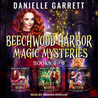 The Beechwood Harbor Magic Mysteries Boxed Set: Books 4-6 Audiobook, by