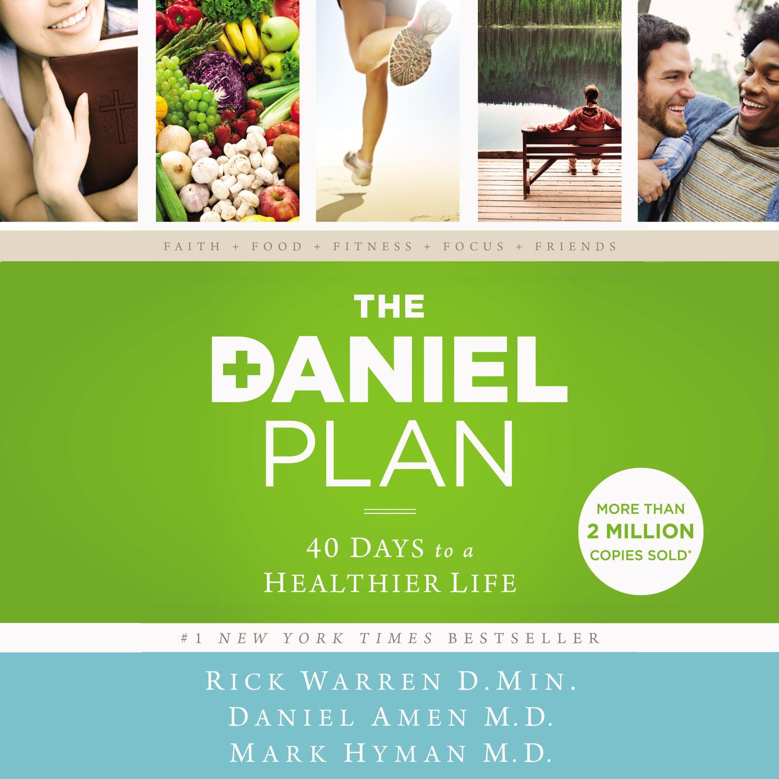 The Daniel Plan: 40 Days to a Healthier Life Audiobook, by Mark Hyman
