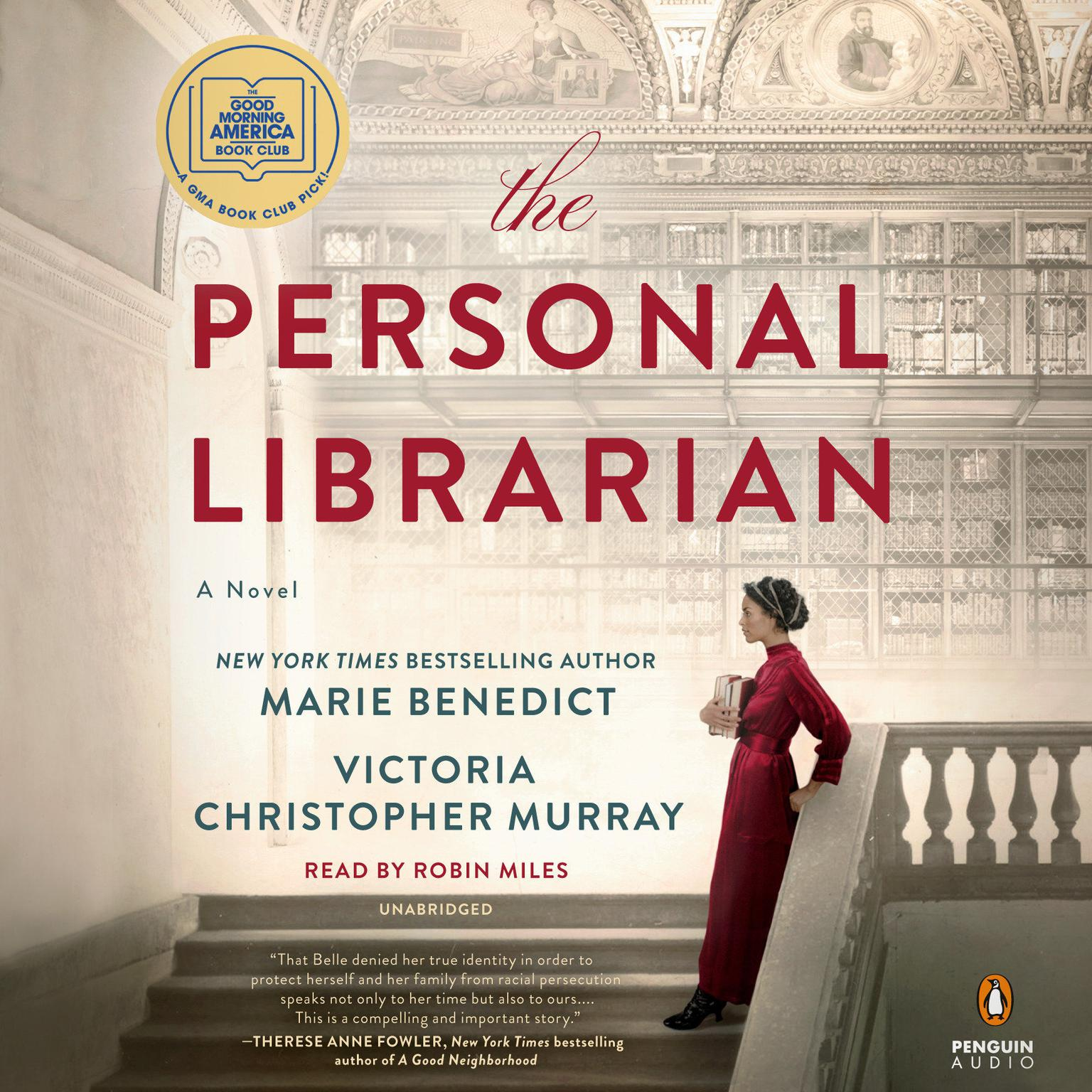 The Personal Librarian Audiobook, by Victoria Christopher Murray