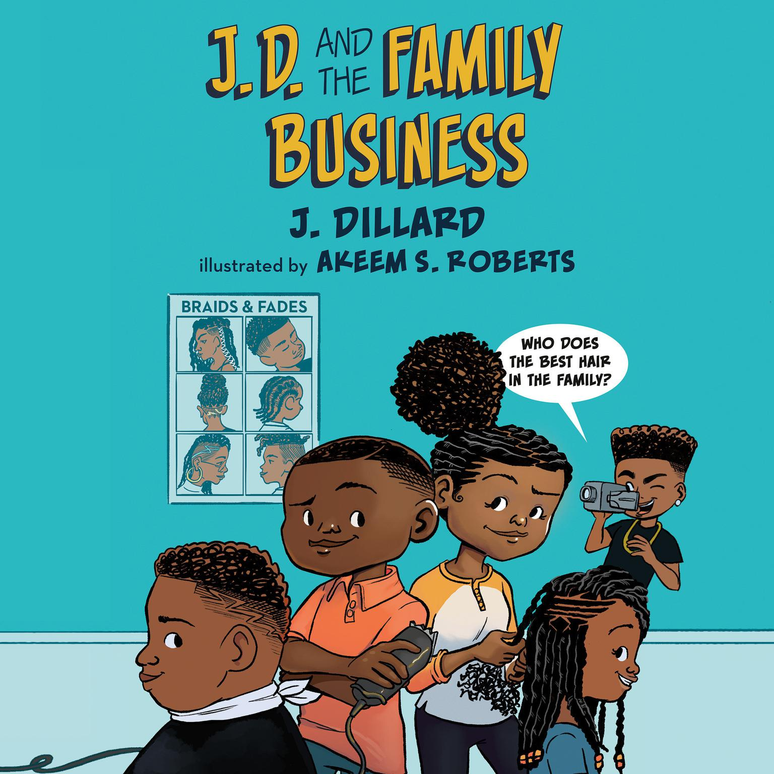 J.D. and the Family Business Audiobook, by J. Dillard