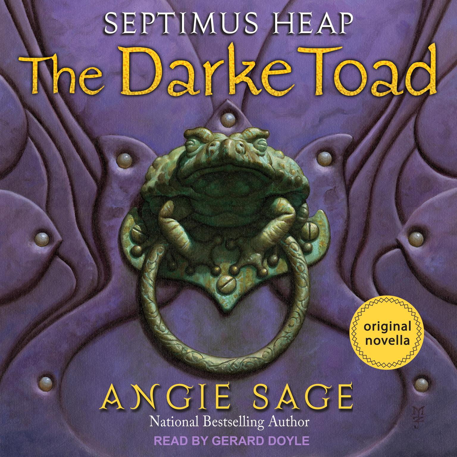 The Darke Toad Audiobook, by Angie Sage