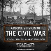 A People's History of the Civil War: Struggles for the Meaning of Freedom Audiobook, by David Williams