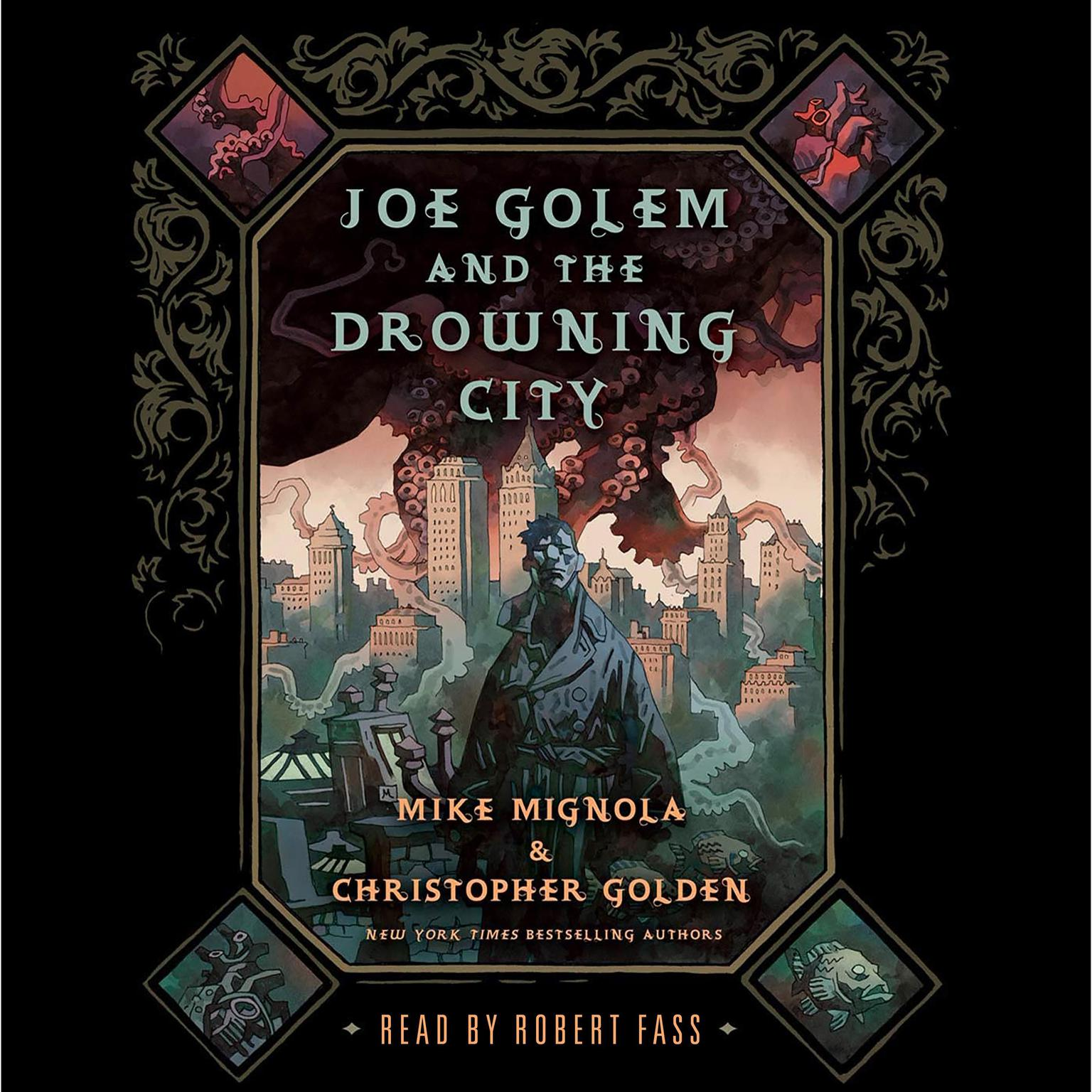 Joe Golem and the Drowning City: A Novel Audiobook, by Mike Mignola
