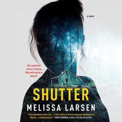 Shutter Audiobook, by Melissa Larsen