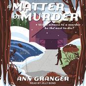 A Matter of Murder Audiobook, by Ann Granger