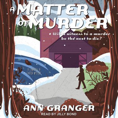 A Matter of Murder Audiobook, by