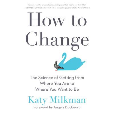 How to Change: The Science of Getting from Where You Are to Where You Want to Be Audiobook, by