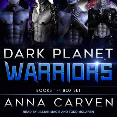 Dark Planet Warriors: Books 1-4 Box Set Audiobook, by Anna Carven