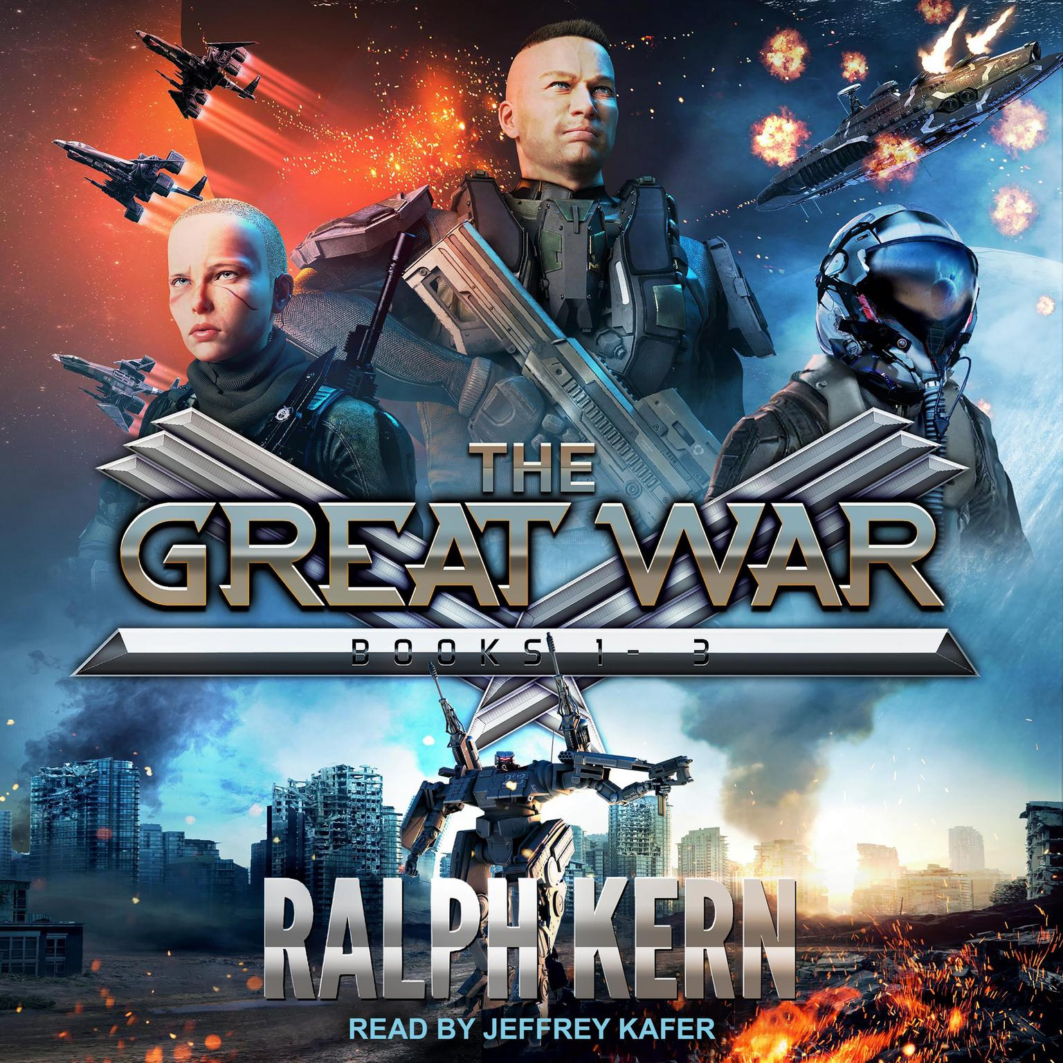 Great Wars Boxed Set: Books 1-3 Audiobook, by Ralph Kern