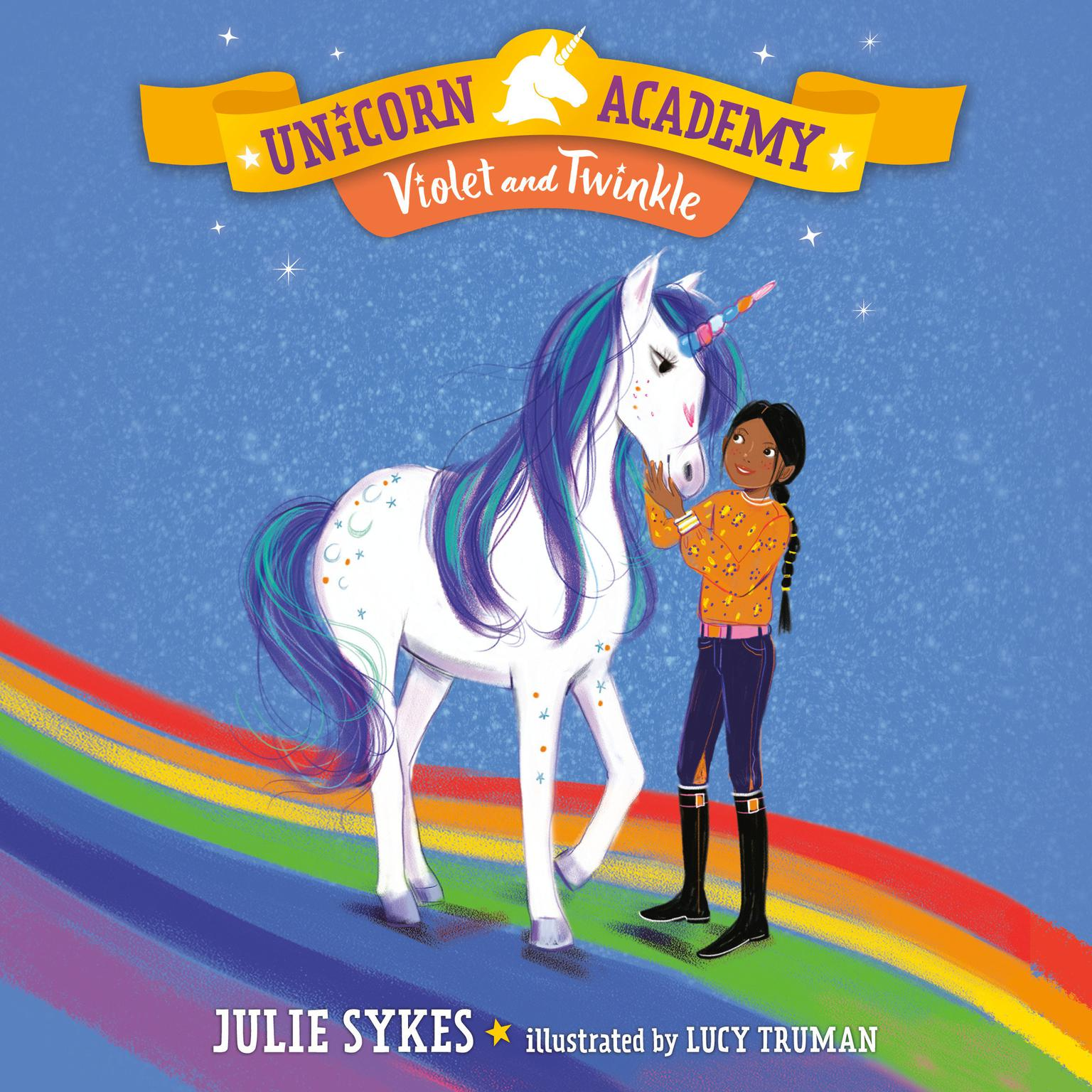 Unicorn Academy #11: Violet and Twinkle Audiobook, by Julie Sykes