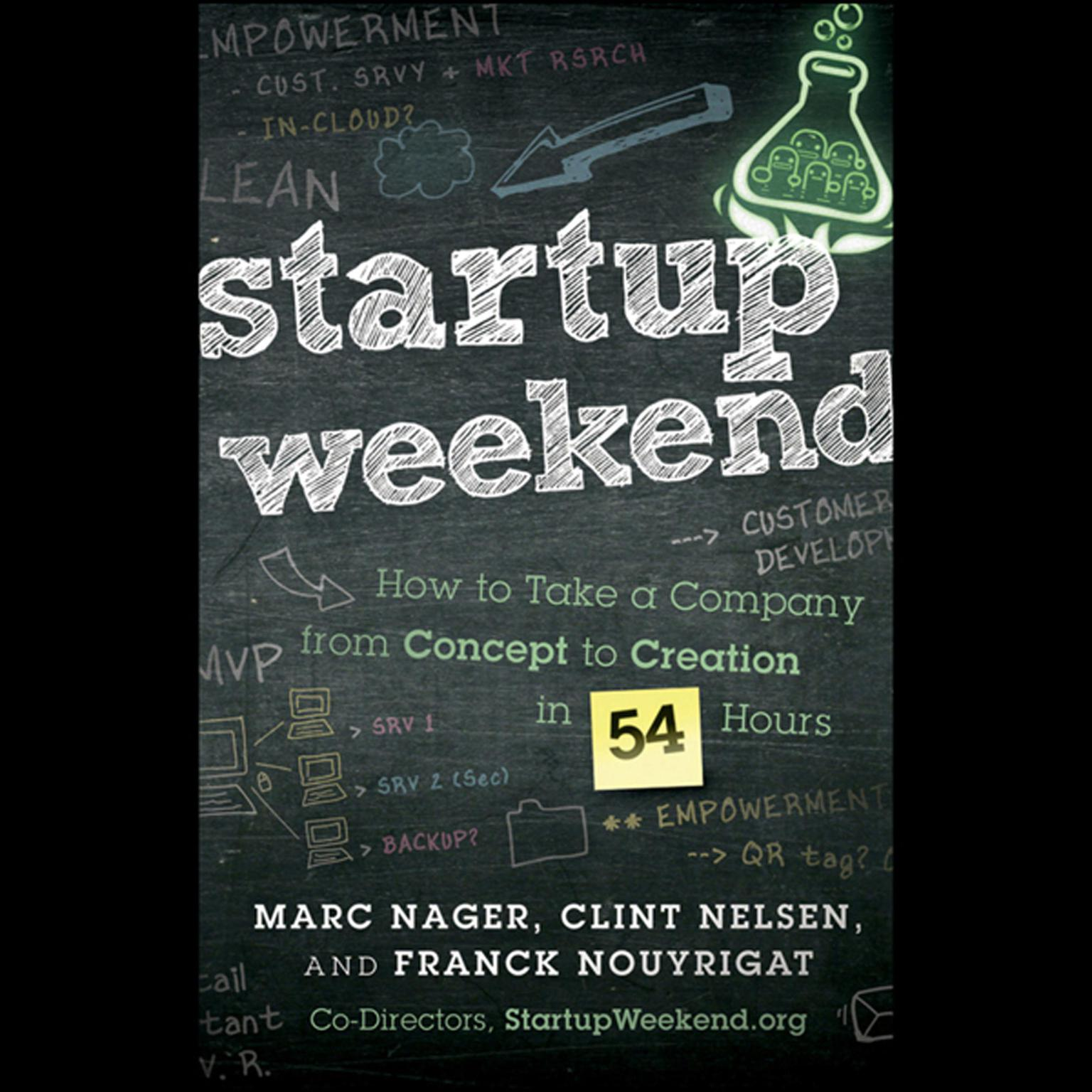 Startup Weekend: How to Take a Company From Concept to Creation in 54 Hours Audiobook, by Clint Nelsen